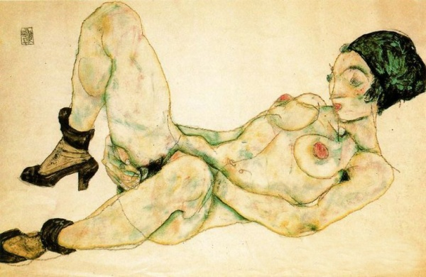 woman-with-green-turban-by-Egon-Schiele-019141